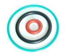 供应吴江/常熟/常州/彩色硅胶圈/耐高温硅胶圈 图片