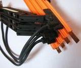 鹏祥4P60A电轨集电器 , 起重机电动葫芦配件,滑线导电器