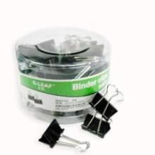 厂家直销办公用品供应吉丽筒装黑色长尾夹32MMG2312批发