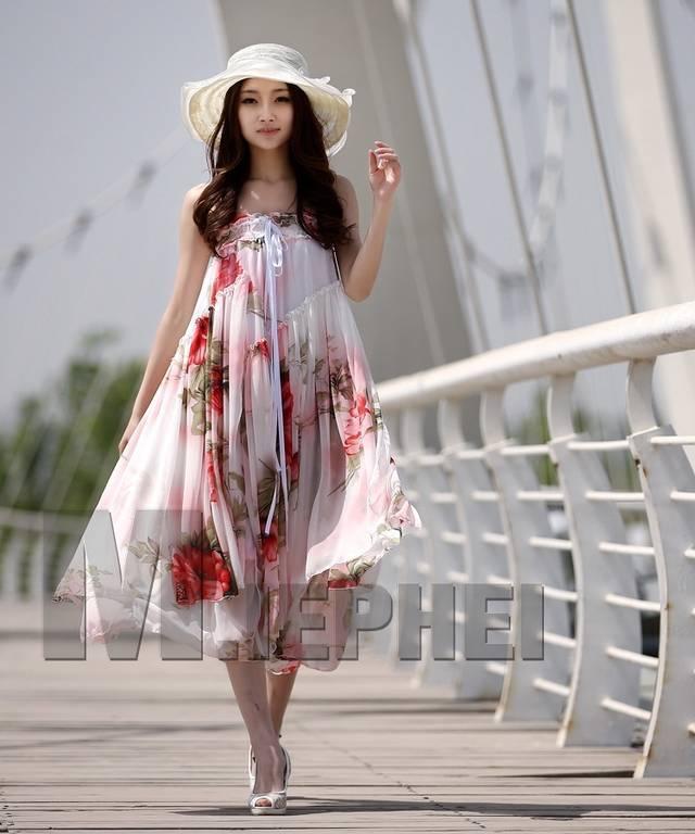 版女装连衣长裙礼服裙半身裙雪纺 韩版女装连衣长裙礼服裙半身裙雪
