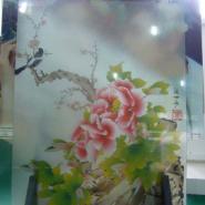 装饰玻璃印花机图片