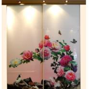 玻璃衣柜门彩印机图片