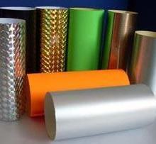 供应济南山东镭射膜,金银料,PVC不干胶,透明料,格拉辛纸批发