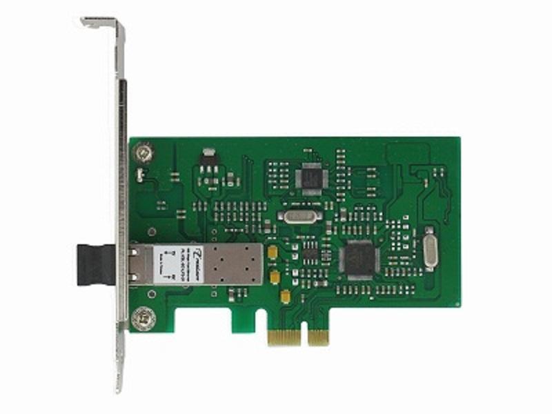 供应单口 PCI-E 百兆光纤网卡