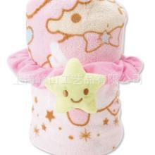 供应超柔印花珊瑚绒儿童毛毯批发
