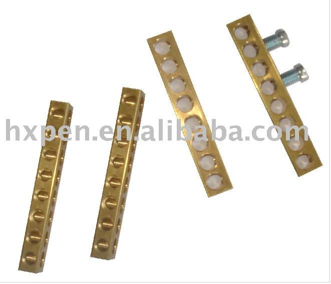 供应商/生产供应接线端子排接地铜排-海盐雅比斯电子