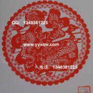 PVC不干胶中国剪纸窗花纸品礼品图片