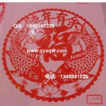 供应春节年货必备自粘型年画窗花剪纸图片