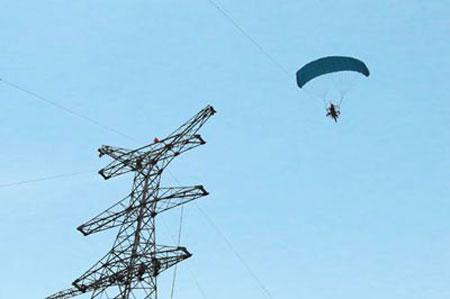 动力伞空中架线销售