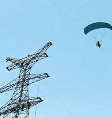 动力伞空中架线图片/动力伞空中架线样板图 (1)