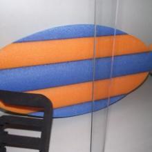供应珍珠海棉浮水棒体育比赛专用浮水棒