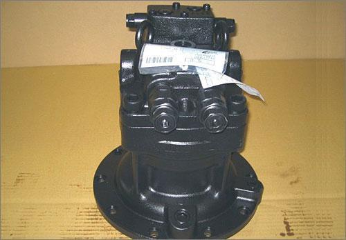 液压配件有限公司 神钢sk220-3挖掘机回转马达泵壳图片
