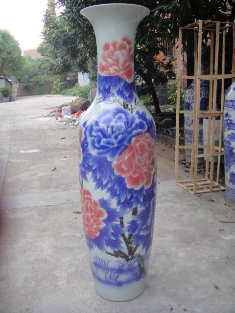 花瓶订做花瓶礼品赠送庆典开业送礼西安陶瓷大花瓶工艺品摆件