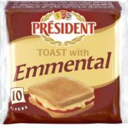 烤面包埃曼塔尔奶酪片图片