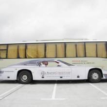 供应创意车身广告设计制作审批发布图片