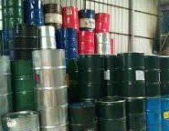 广州从化地区二手油桶翻新加工回收图片