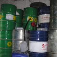 200L铁桶油桶大量高价回收厂内废油图片
