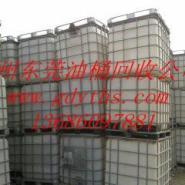 回收广东地区化工原料四方塑料桶图片