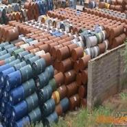 广东油桶收购商高价回收二手油桶图片