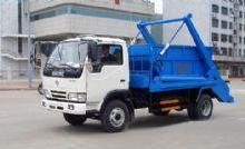 供应哈密东风金霸摆臂式垃圾车在哪里买,哈密垃圾车总经销,程力专汽批发
