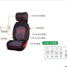 供应推拿按摩椅垫颈背按摩靠垫按摩器批发