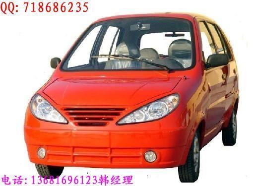 供应商 生产供应 时风 红色 新款电动汽车 残疾人 高清图片