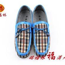 供应老北京布鞋时尚男鞋图片