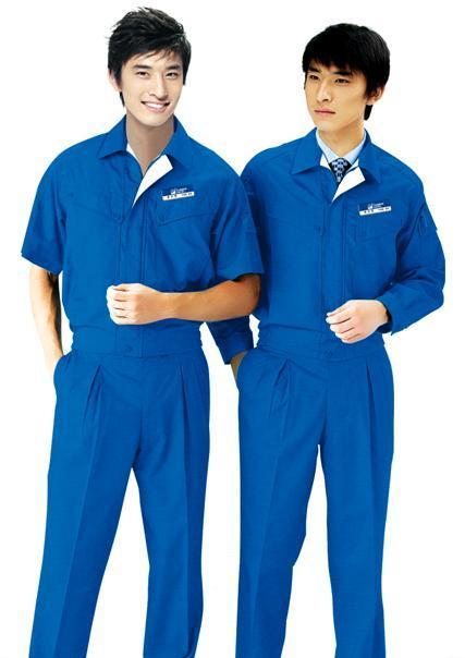 供应 厂家冬装长袖工作服厂服夹克衫套装