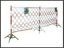 供应围栏系列安全警示带安全围栏支架不锈钢伸缩性的电厂工地用品河北石家批发