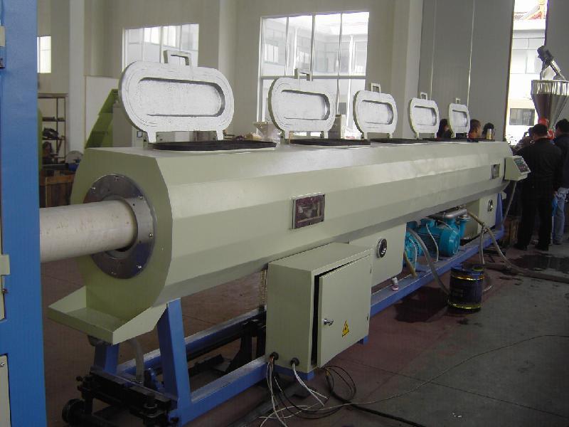 供应U-PVC线缆铺设管材挤出生产线