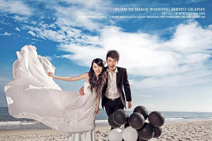 供应三亚婚纱摄影简约时尚的拍摄风格