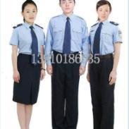 男女春秋装保安服装图片