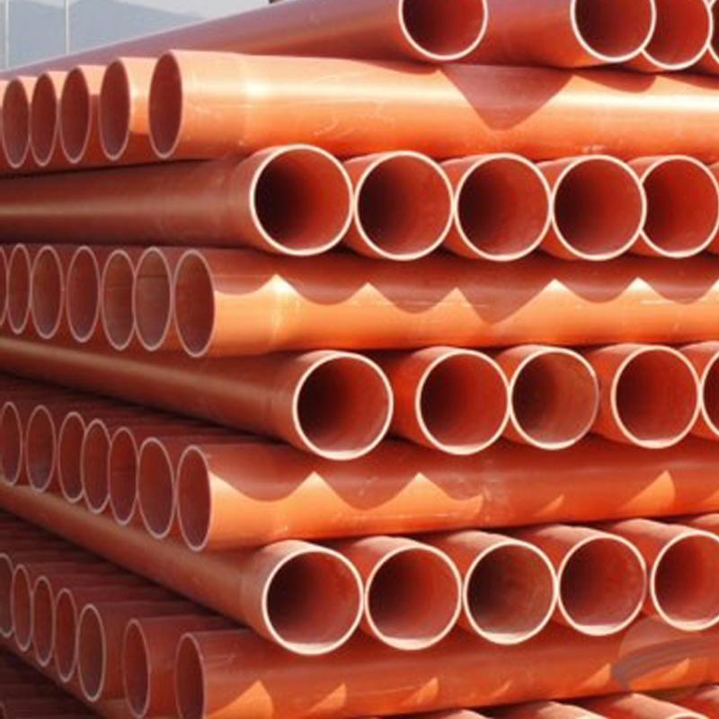 供应大量批发PVC-C高压电力电缆管Φ110