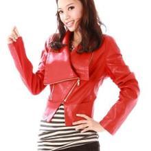 今年最流行的时尚女装皮衣批发,韩版皮衣外套批发
