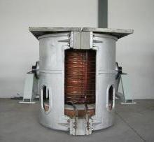 张家港2吨炼钢中频炉回收南京专业拆除回收二手中频电炉图片