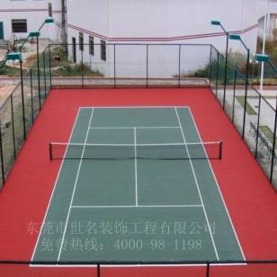 大朗网球场涂料图片