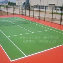 承接新丰硅PU球场,韶关塑胶硅PU篮球场施工厂家,乳源网球场地面