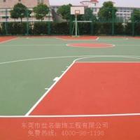 标准篮球场地尺寸多少面积?篮球场做哪种材料便宜点?丙烯酸篮球场经济