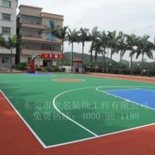 东莞桥头网球场地面油漆价格,谢岗横沥丙烯酸网球场,企石塑胶网球场施工图片