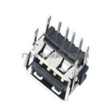 供应USB母座短体90度Dip式