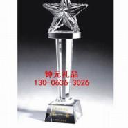 武汉厂家颁奖典礼湖北内雕水晶奖牌图片