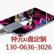 武汉订做超薄名片u盘工厂图片