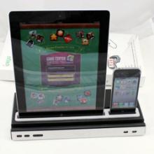 供应iPad iPhone 音响充电座 座充音响 底座音响 ipeg