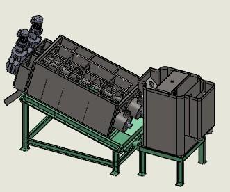 供应叠螺式污泥脱水机8-生产批发