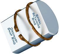 供应波形弹簧弹性挡圈自锁卡环卡簧