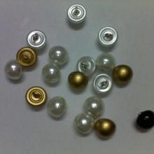 供应16L半圆珍珠扣