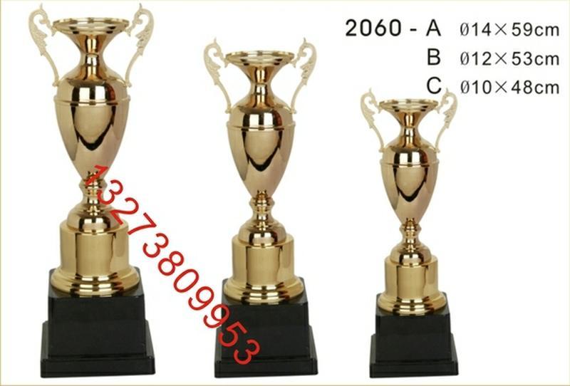 吉林长春市奖杯厂金属奖杯批发水晶奖杯订做水晶奖杯价格图片刻字