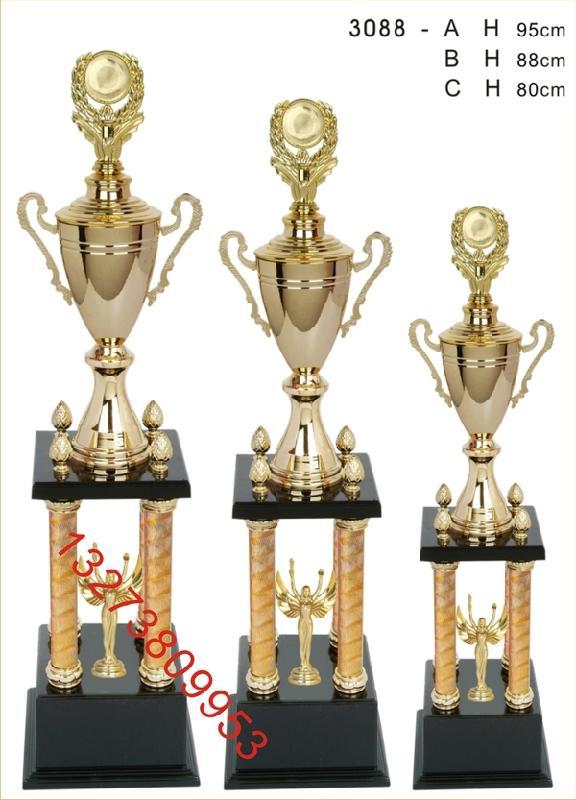 辽宁沈阳市奖杯厂金属奖杯批发水晶奖杯订做水晶奖杯价格图片刻字