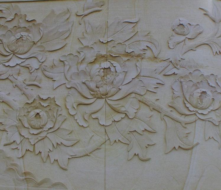 Sandstone engraving-XFL-1325-3 stone engraving machine-XINFALA CNC China