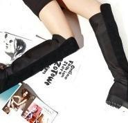 冬季罗马欧美中跟真牛皮女鞋价格图片